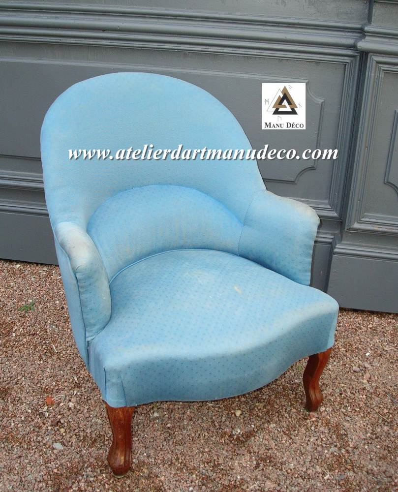 Object moved - Restauration fauteuil crapaud ...