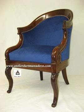 Vign_fauteuil_gondole_style_Louis_Philippe