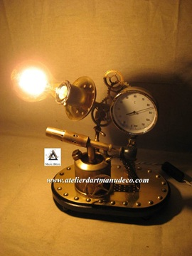 Vign_soudlamp_rouage_steampunk_lampe_a_souder