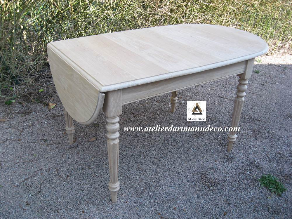Table sur mesure for Table sur mesure lapeyre