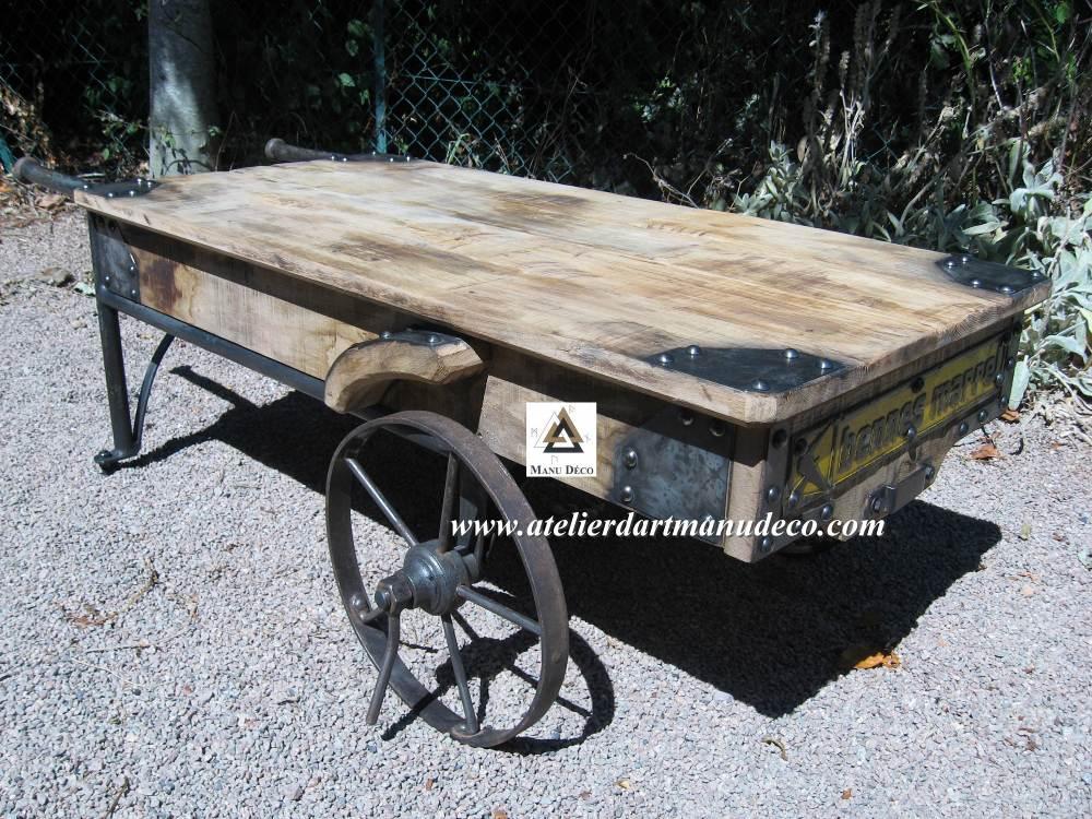 table_basse_chariot_industriel_loft